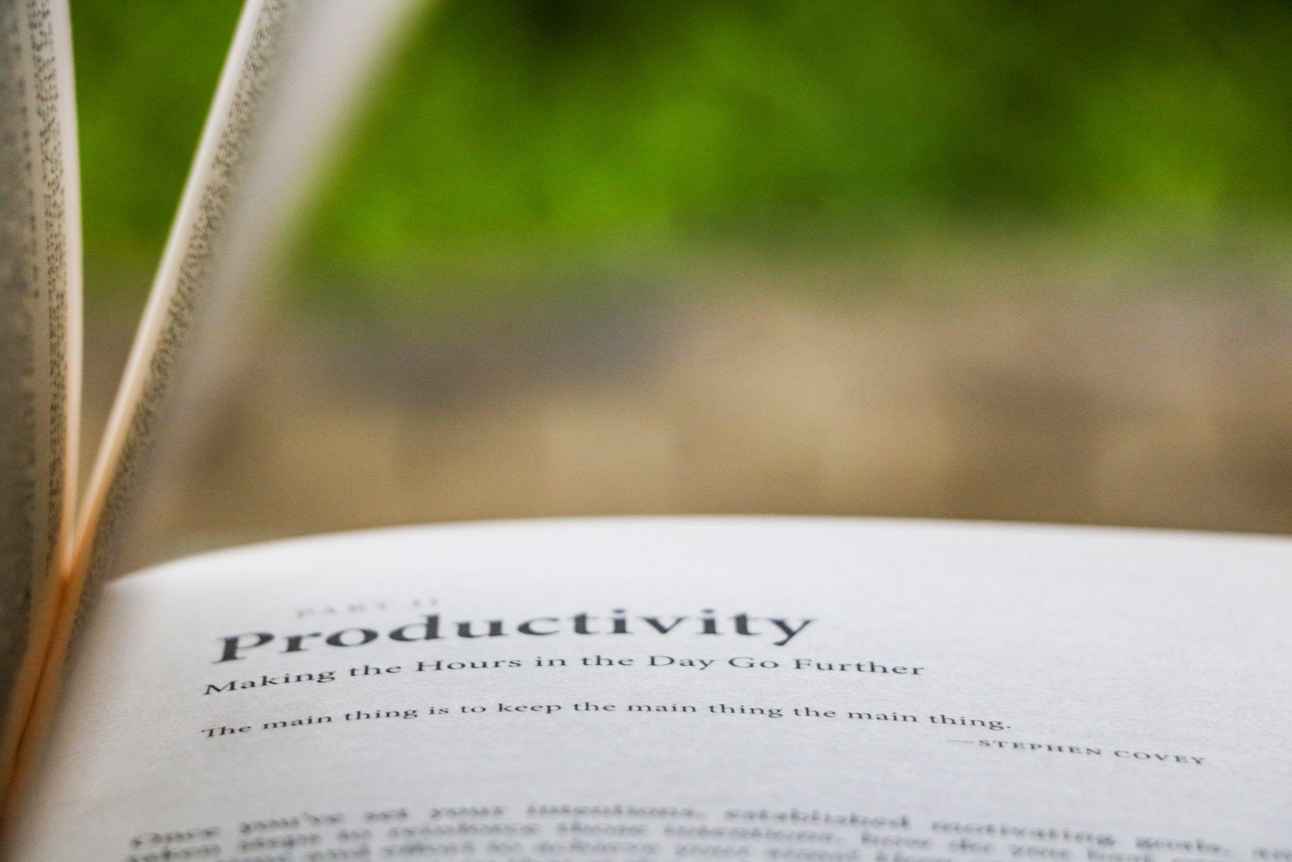10 herramientas para potenciar la productividad y el rendimiento.
