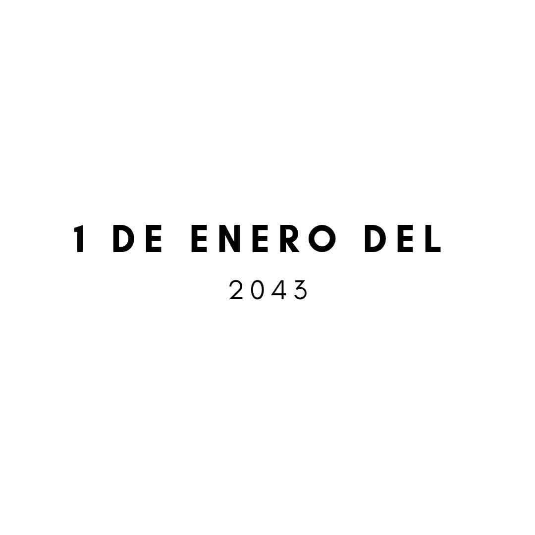 1 de Enero del 2043